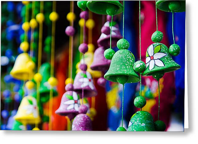 Wildlife Celebration Greeting Cards - Nicaraguan Bells Greeting Card by William Shevchuk