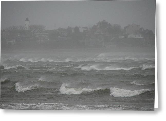 Best Sellers -  - Storm Clouds Cape Cod Greeting Cards - Nice Beach Day Greeting Card by Brian Mazzoli