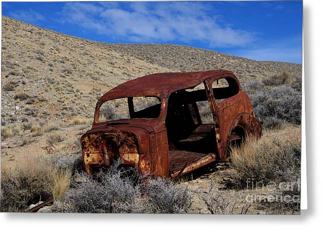 Forgotten Cars Greeting Cards - Nice Body Greeting Card by Bob Christopher