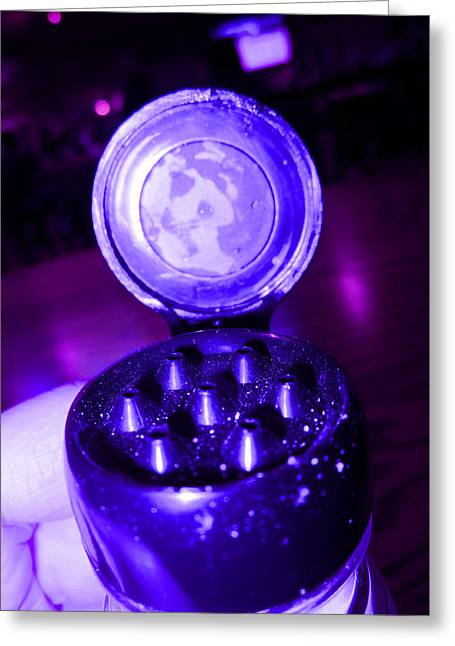 Hues Of Purple Greeting Cards - Nice Shaker Greeting Card by Kym Backland