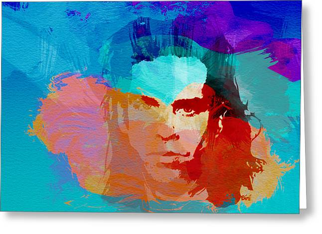 Seeds Greeting Cards - Nick Cave Greeting Card by Naxart Studio
