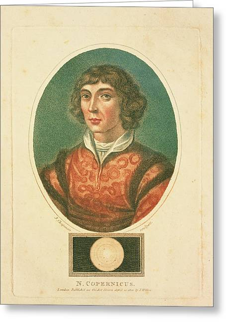 Copernicus Greeting Cards - Nicolaus Copernicus Greeting Card by