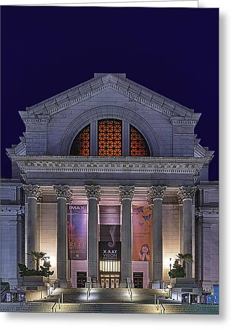 Education Greeting Cards - Night at the Museum Greeting Card by Metro DC Photography