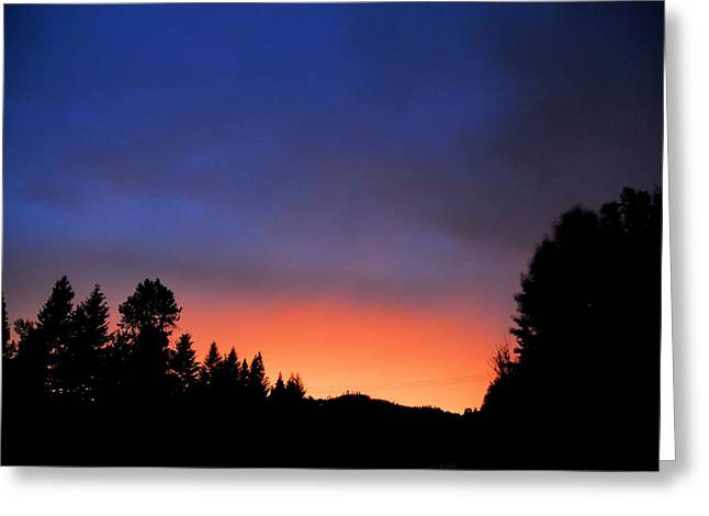 Lightning Greeting Cards - Night colors Greeting Card by Don Mann