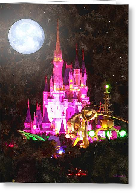 Cinderella Photographs Greeting Cards - Night Of Magic Greeting Card by Kenneth Krolikowski