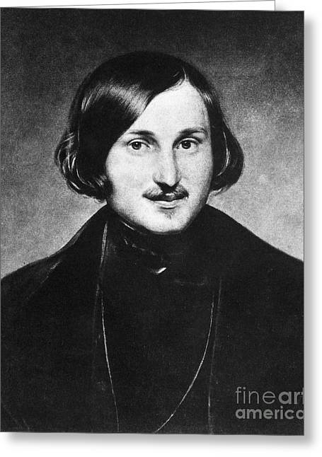 Nikolai Gogol (1809-1852) Greeting Card by Granger