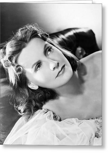 1939 Movies Greeting Cards - Ninotchka, 1939 Greeting Card by Granger
