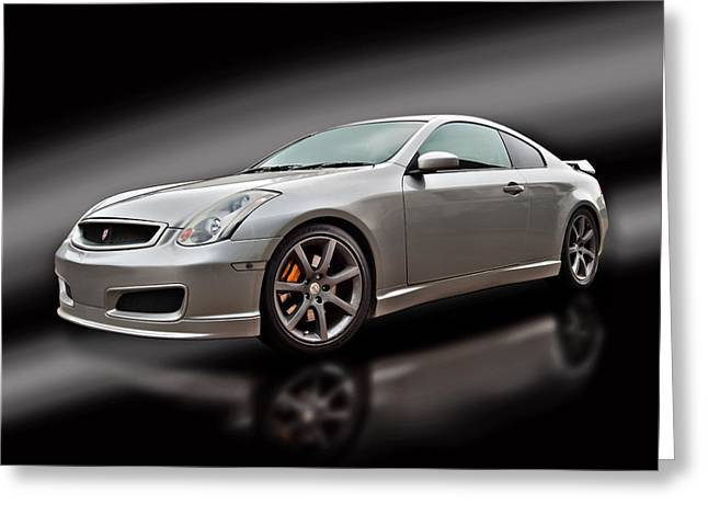 D700 Greeting Cards - Nissan Skyline Greeting Card by Carl Shellis