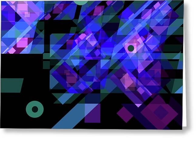 No Illusions Greeting Card by Lynda Lehmann