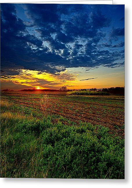 Reservation Greeting Cards - No Reservations Greeting Card by Phil Koch