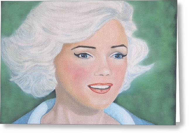 Norma Jean Greeting Cards - Norma Jean Greeting Card by Alf Hall