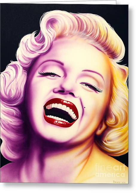 Norma Jean Greeting Cards - Norma Jean Greeting Card by Bruce Carter