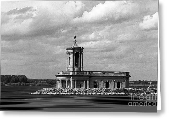 St. Thomas Greeting Cards - Normanton Church Rutland Water Greeting Card by Louise Heusinkveld