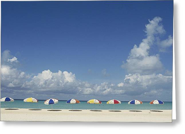 Mujeres Greeting Cards - North Beach, Isla Mujeres, Baja, Mexico Greeting Card by Michael S. Lewis