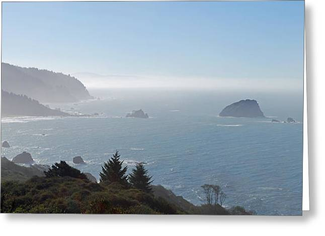 Pacific Ocean Prints Greeting Cards - North California Coast Greeting Card by Twenty Two North Photography