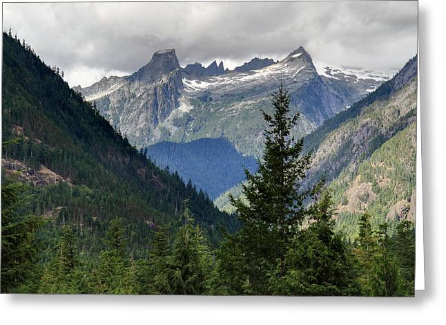 North Cascades National Park Greeting Card by Pierre Leclerc Photography