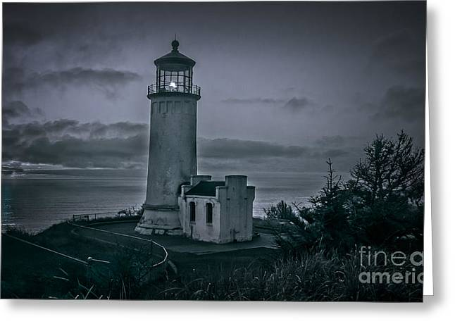 Aid To Navigation Greeting Cards - North Head Greeting Card by Robert Bales