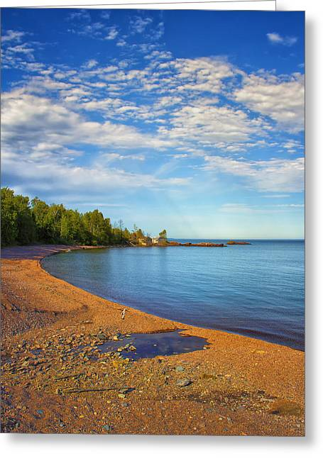 North Shore Greeting Cards - North Shore Beach Greeting Card by Bill Tiepelman