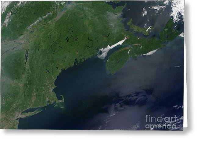 True Colors Greeting Cards - Northeast United States And Canada Greeting Card by Stocktrek Images