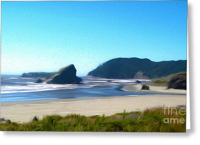 Gregory Dyer Greeting Cards - Northern California Coast - 04 Greeting Card by Gregory Dyer