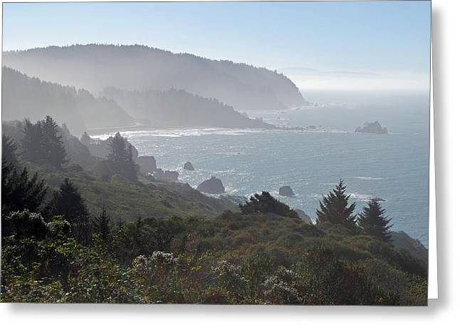 Pacific Ocean Prints Greeting Cards - Northern California Coast Greeting Card by Twenty Two North Photography