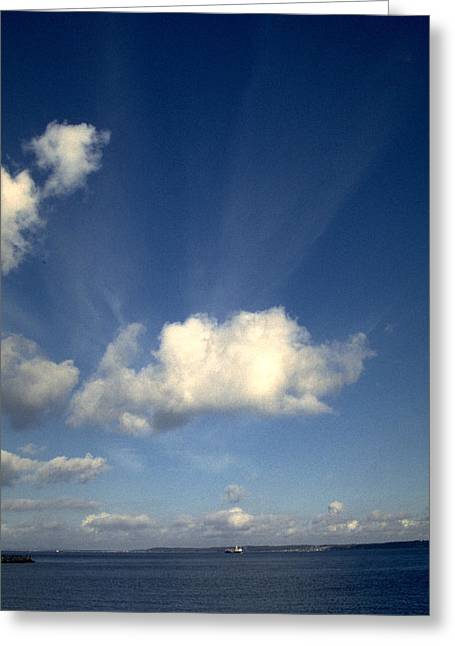 Kattegat Greeting Cards - Northern sky Greeting Card by Flavia Westerwelle