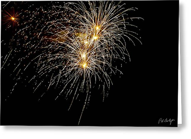 4th July Digital Art Greeting Cards - Northern Star Greeting Card by Phill  Doherty