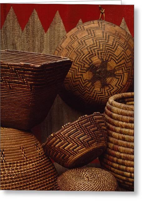 North American Indian Ethnicity Greeting Cards - Northwest Native American Tribe Greeting Card by Lynn Johnson