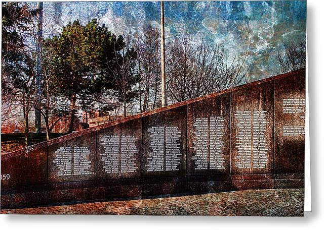 Rememberance Greeting Cards - Not Forgotten Greeting Card by Peter Chilelli