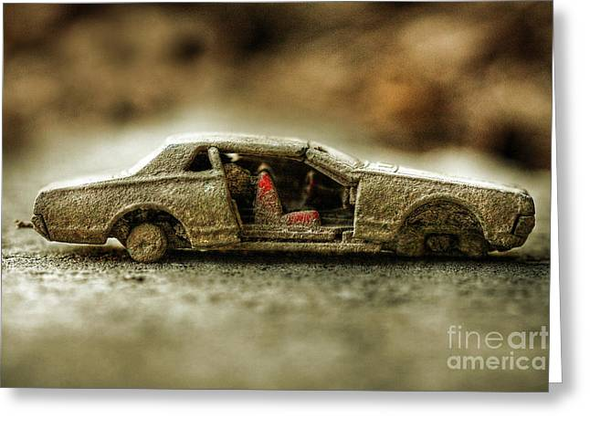 Canon 50d Greeting Cards - Not So Hot Wheels Greeting Card by Randy Steele