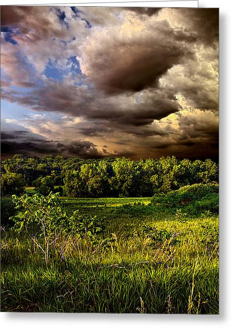 Mural Photographs Greeting Cards - Now and Then Greeting Card by Phil Koch