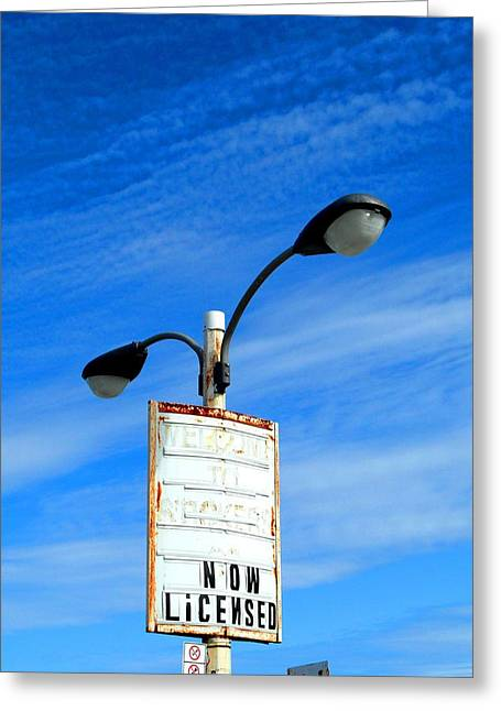 Night Lamp Pastels Greeting Cards - Now Licensed Greeting Card by Cyryn Fyrcyd