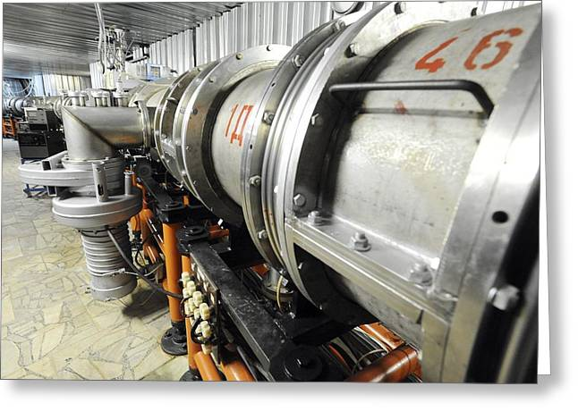 European Particle Physics Lab Greeting Cards - Nuclotron Particle Accelerator, Russia Greeting Card by Ria Novosti