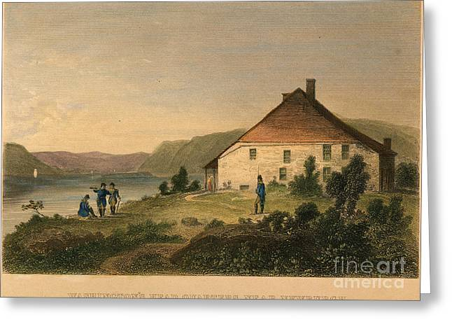 1782 Greeting Cards - Ny: Headquarters, 1782 Greeting Card by Granger