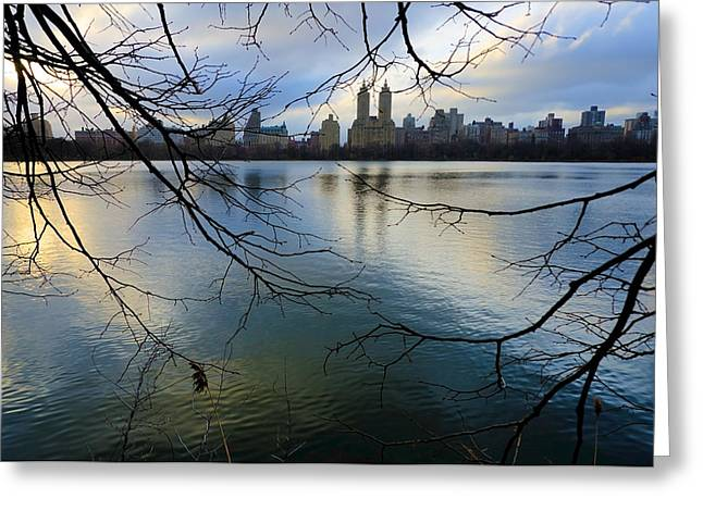 Busy Life Greeting Cards - Nyc012 Greeting Card by Svetlana Sewell