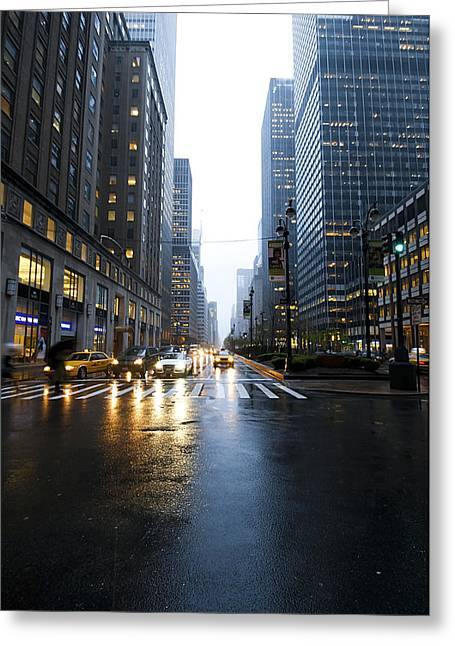 Busy Life Greeting Cards - Nyc046 Greeting Card by Svetlana Sewell