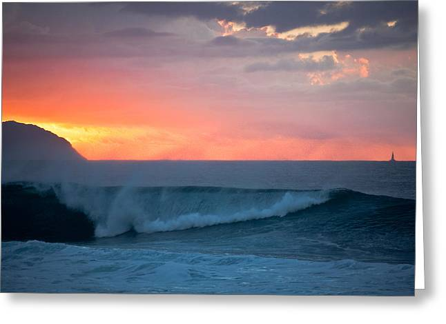 Ralf Kaiser Greeting Cards - Oahu North Shore Greeting Card by Ralf Kaiser