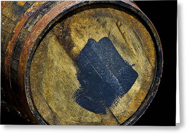 Coopersmith Greeting Cards - Oak Barrel Marked Greeting Card by LeeAnn McLaneGoetz McLaneGoetzStudioLLCcom