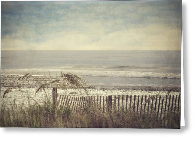 Breezy Greeting Cards - Ocean Breeze Greeting Card by Kathy Jennings