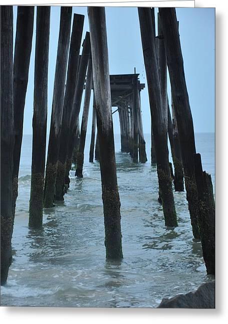 Atlantic Beaches Digital Art Greeting Cards - Ocean City 59th Street Pier Greeting Card by Bill Cannon