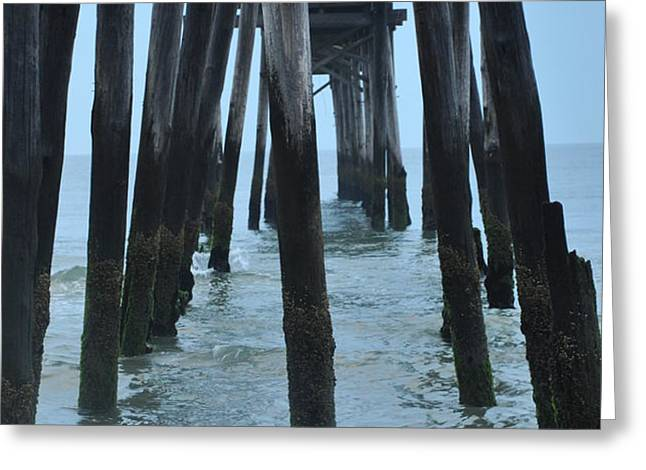 Ocean City 59th Street Pier Greeting Card by Bill Cannon
