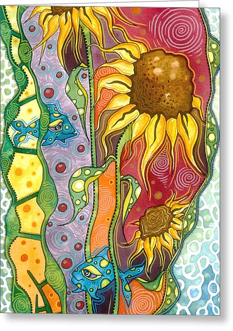 Ocean Dreams Greeting Card by Tanielle Childers