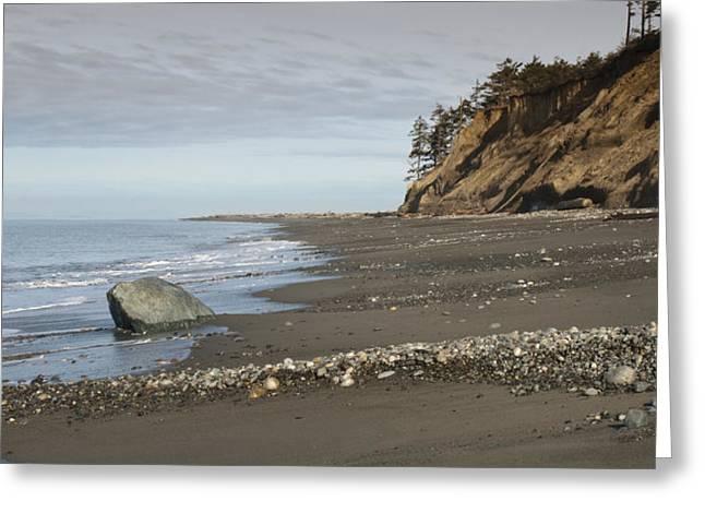 Juan De Fuca Greeting Cards - Ocean Front View Greeting Card by Chad Davis