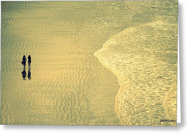 Seize The Moment Greeting Cards - Ocean Of Words Greeting Card by Paulo Zerbato