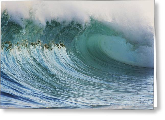 Vince Greeting Cards - Ocean Wave Greeting Card by Vince Cavataio - Printscapes
