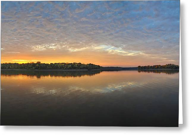 October Sky Greeting Card by Brian Mollenkopf