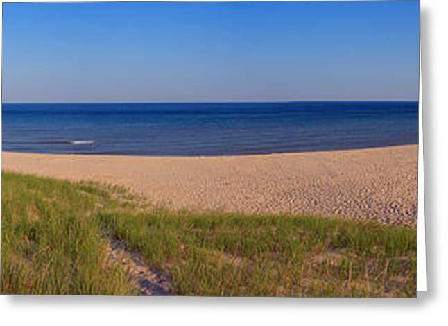 Oenkama Michigan Beach Greeting Card by Twenty Two North Photography