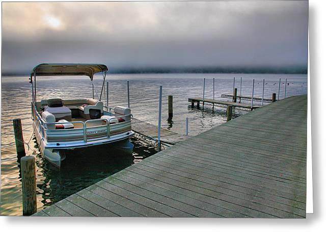 Finger Lakes Greeting Cards - Off-Season I Greeting Card by Steven Ainsworth