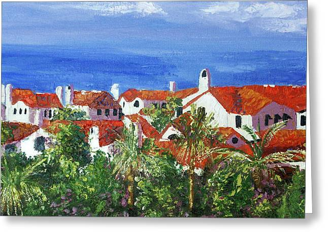 Impressionist Framed Prints Greeting Cards - Off The Coast Greeting Card by Anthony Falbo