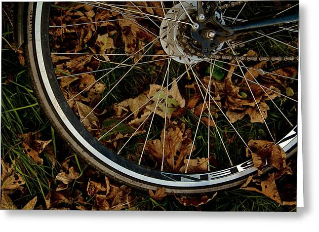 Spokes Greeting Cards - Off To Explore Greeting Card by Odd Jeppesen